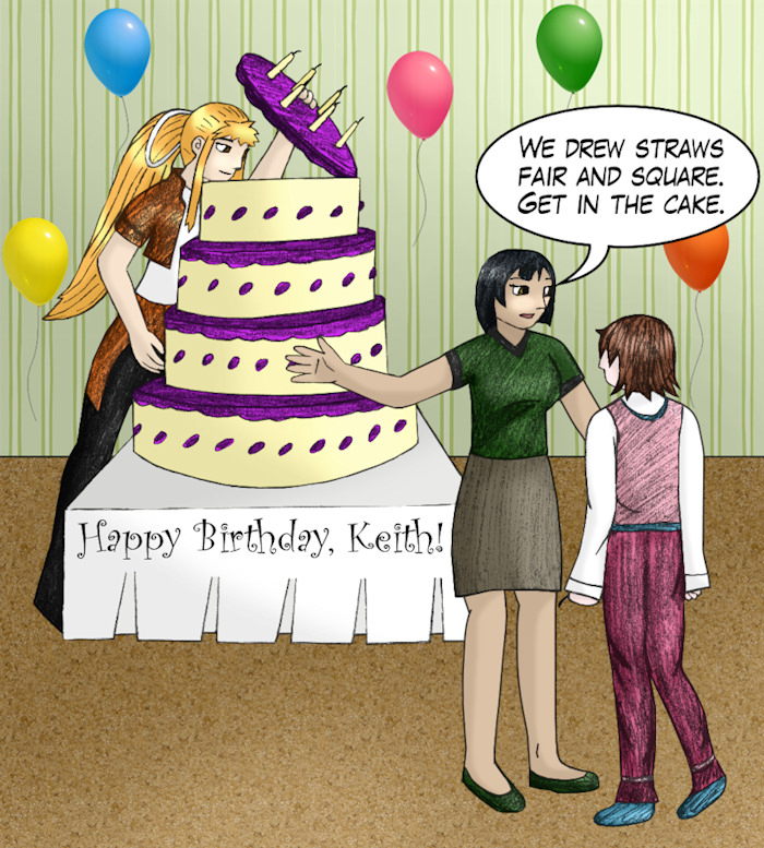 Happy Birthday Keith from Vickie